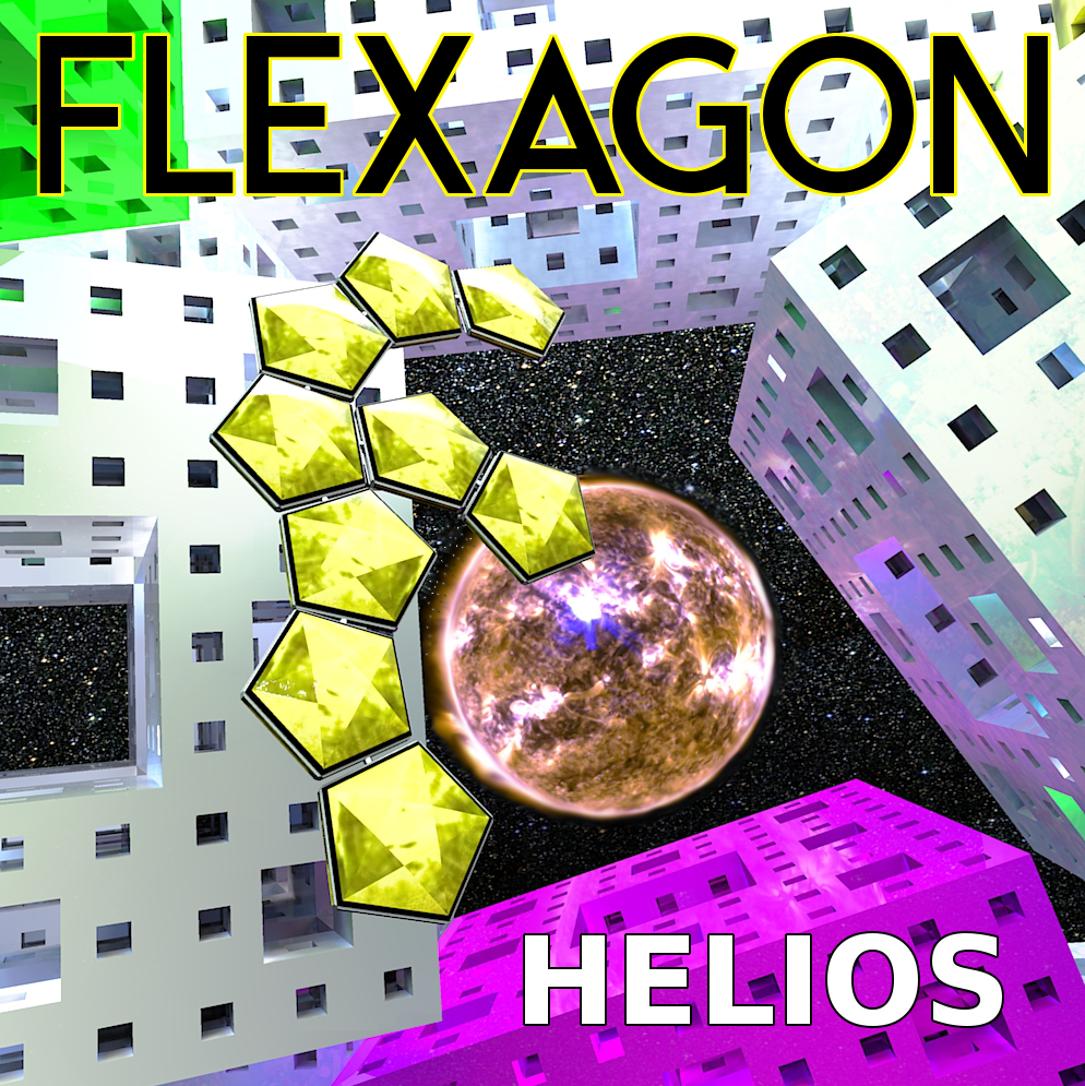 Flexagon Radio in space